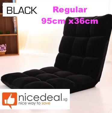 (new) Sofa Floor Chair / Floor Sofa / Sofa Bed Cushion/ Foldable Single Fold / Living Room Furniture By Sindeal Pte Ltd.
