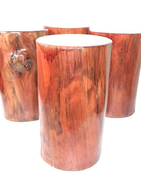 Natural Tree Stump Stool(Pre-owned Refurbished Furniture)