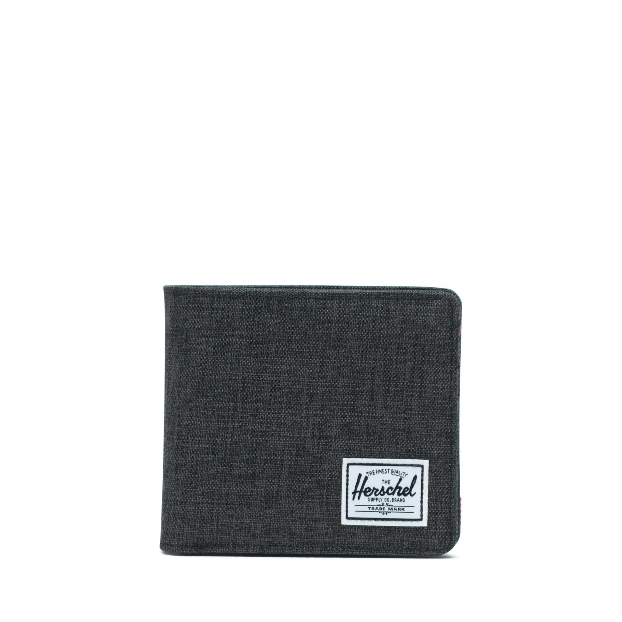 Herschel Hans Coin XL RFID - Black Crosshatch