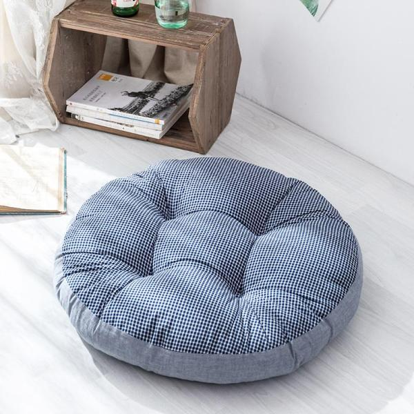 Northern Europe Fresh Washing Cotton Tatami Mat yuan tuan Pure Cotton Seat throw pillow Stool throw pillow da zuo dian Fabric Thick
