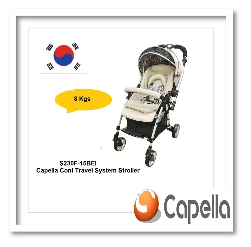 Capella® S230F-15BEI Coni Travel System Stroller Singapore