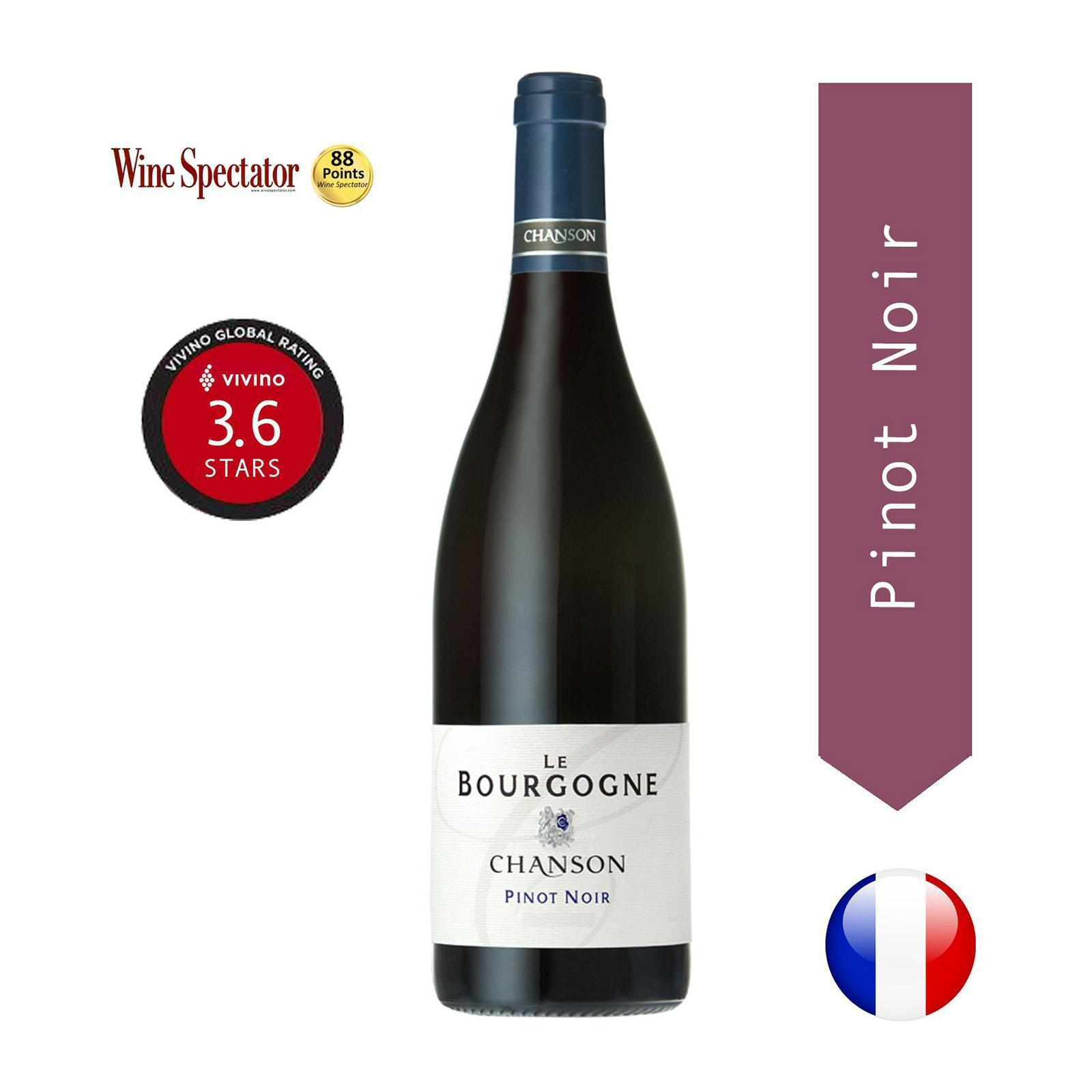 Chanson - Bourgogne Pinot Noir - Red Wine - Burgundy - By The Vintage Wine Club