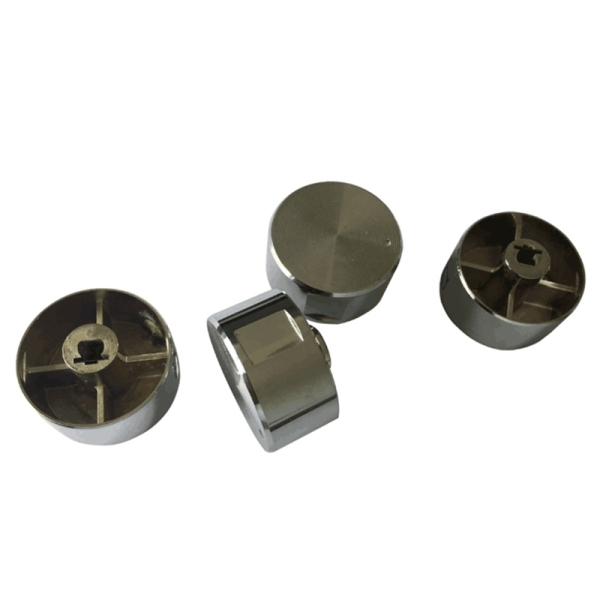 Bảng giá 5Pcs Rotary Switch Gas Stove Parts Gas Stove Knob Zinc Alloy Round Knob With Chrome Plating For Gas Stove Điện máy Pico