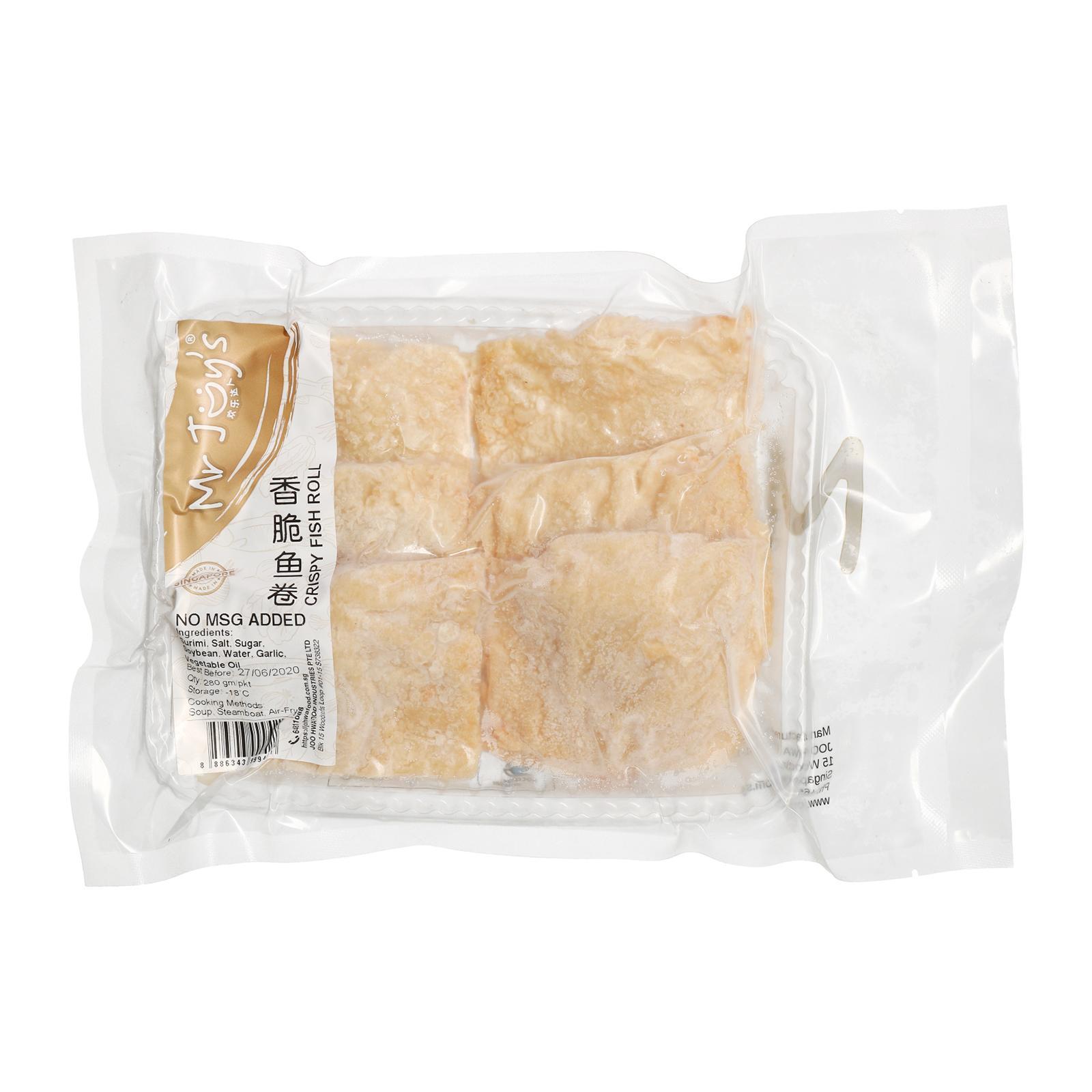 JHF Yong Tau Foo Crispy Fish Roll Non MSG - Frozen
