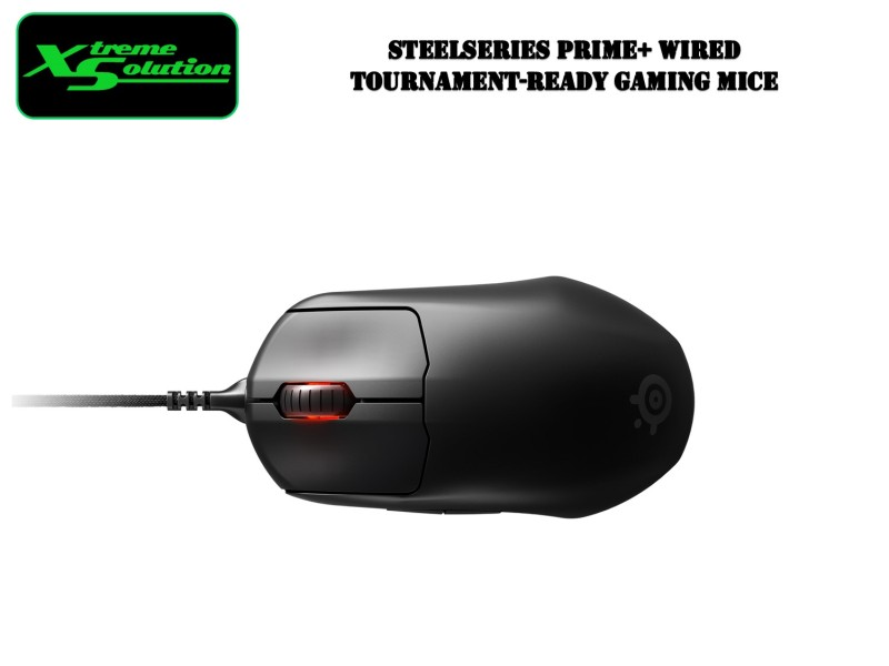 Steelseries Prime+ Wired Tournament-Ready Gaming Mice