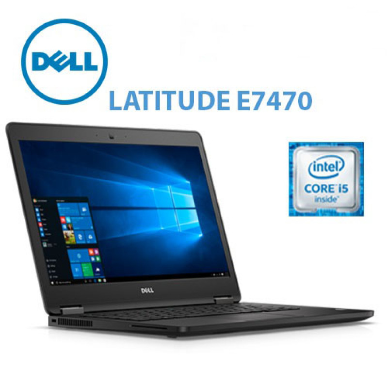 Dell Latitude E7470 14 Touch screen Business Laptop Computer, Intel Core i5-6300U #2.3Ghz 8GB RAM, 256GB SSD, 802.11ac, Bluetooth, HDMI, USB 3.0, Windows 10 Professional Grade A  Refurbished