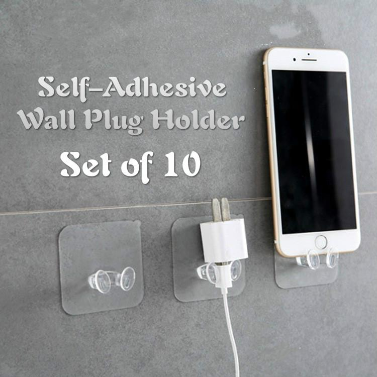 10pcs Transparent Plug Holder