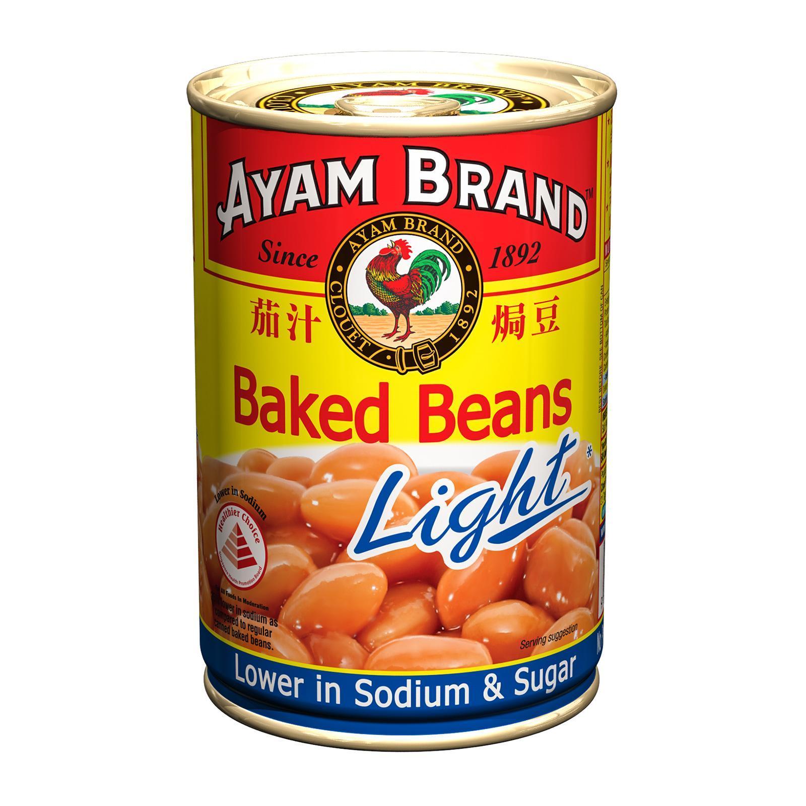Ayam Brand Baked Beans in Tomato Sauce Light