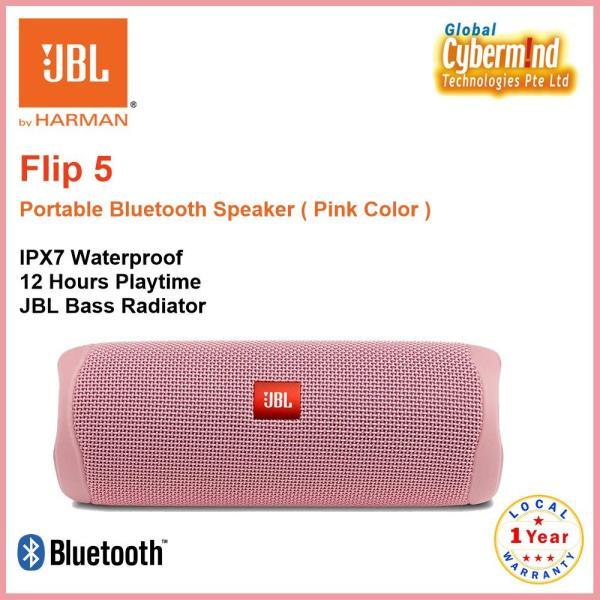 JBL Flip 5 Bluetooth Waterproof IPX7 Portable Speaker Singapore