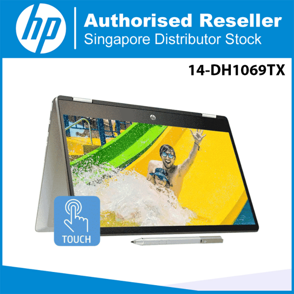 HP Pavilion x360 14-DH1069TX (225Z5PA) 14 i5-10210U 16GB RAM 512GB SSD Convertible Laptop - Natural Silver