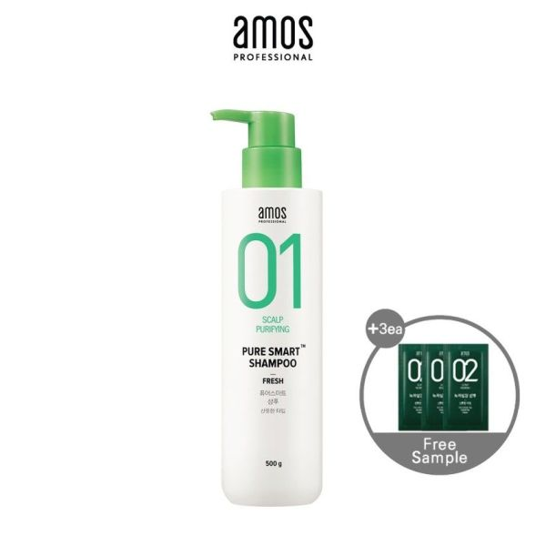 Buy [AMOS PROFESSIONAL] PURE SMART SHAMPOO [FRESH] 500ml Singapore