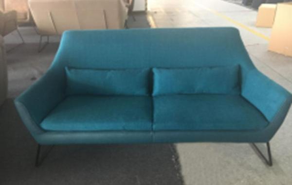 SFF252 UP 6206 (New York) Fabric / PU 2.5 Seaters