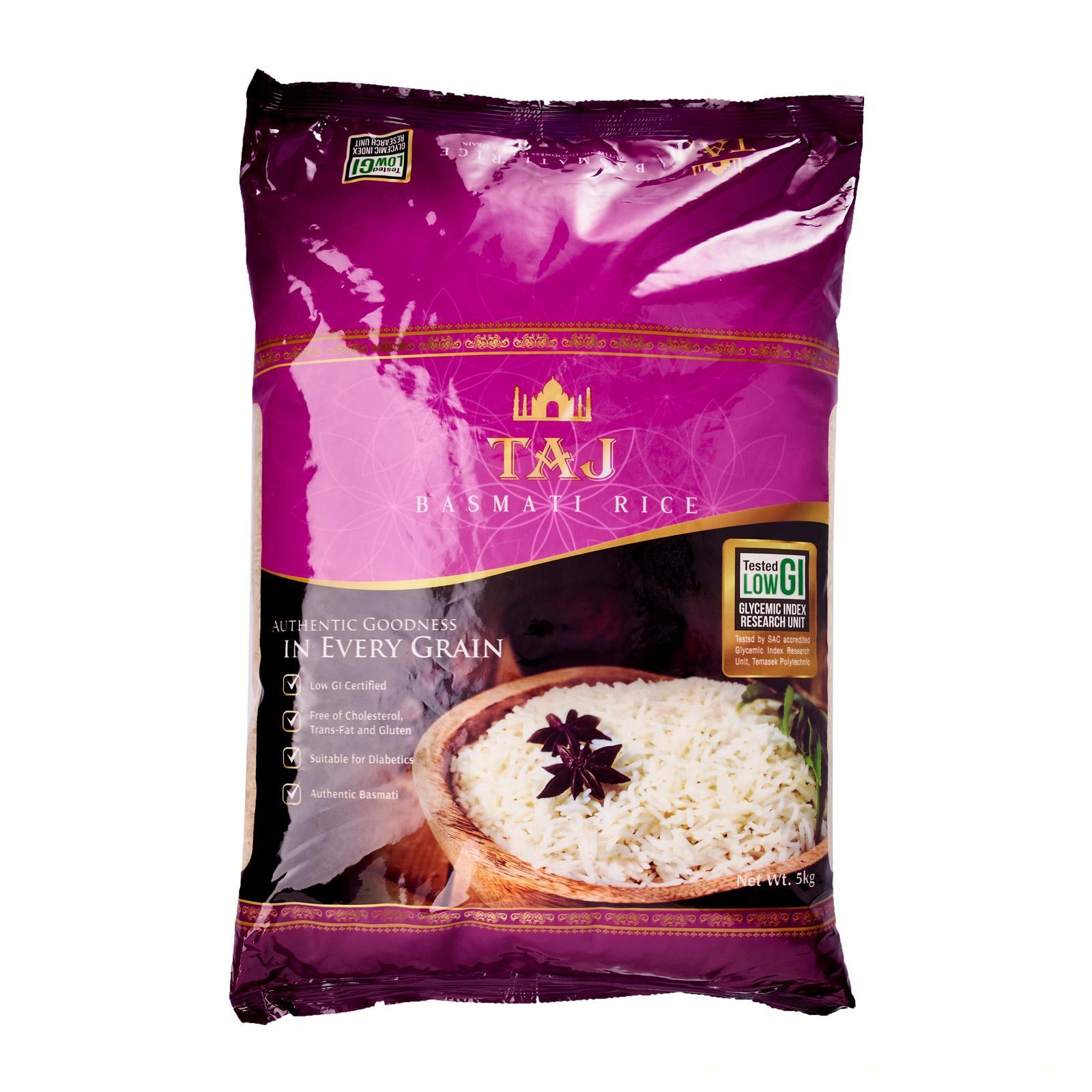 Taj Basmati Rice By Redmart.