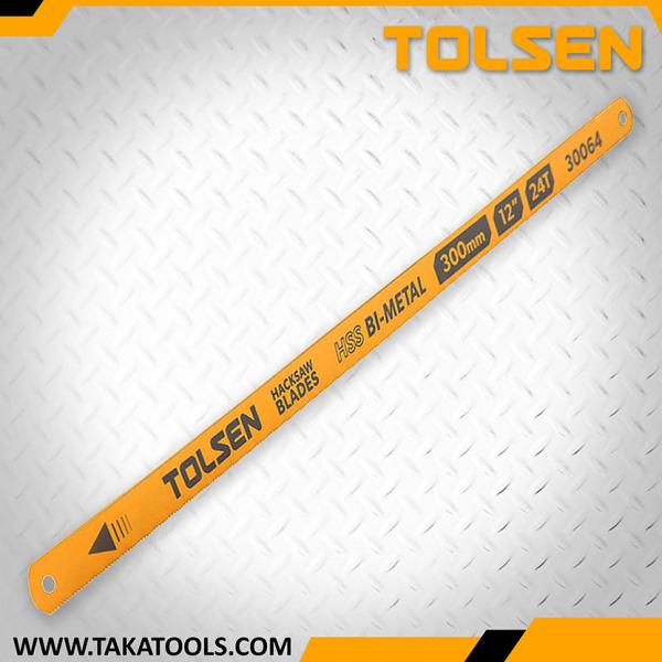 Tolsen Bi-metal hacksaw blade pkt 4 – 30064