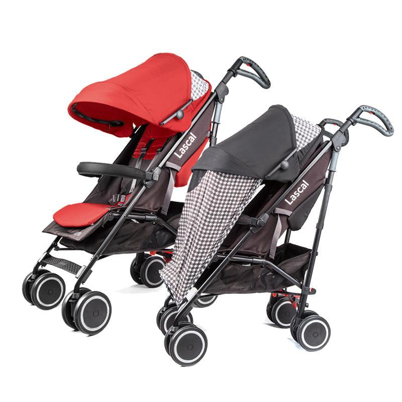 Lascal M1 buggy Stroller - Black / Red Singapore