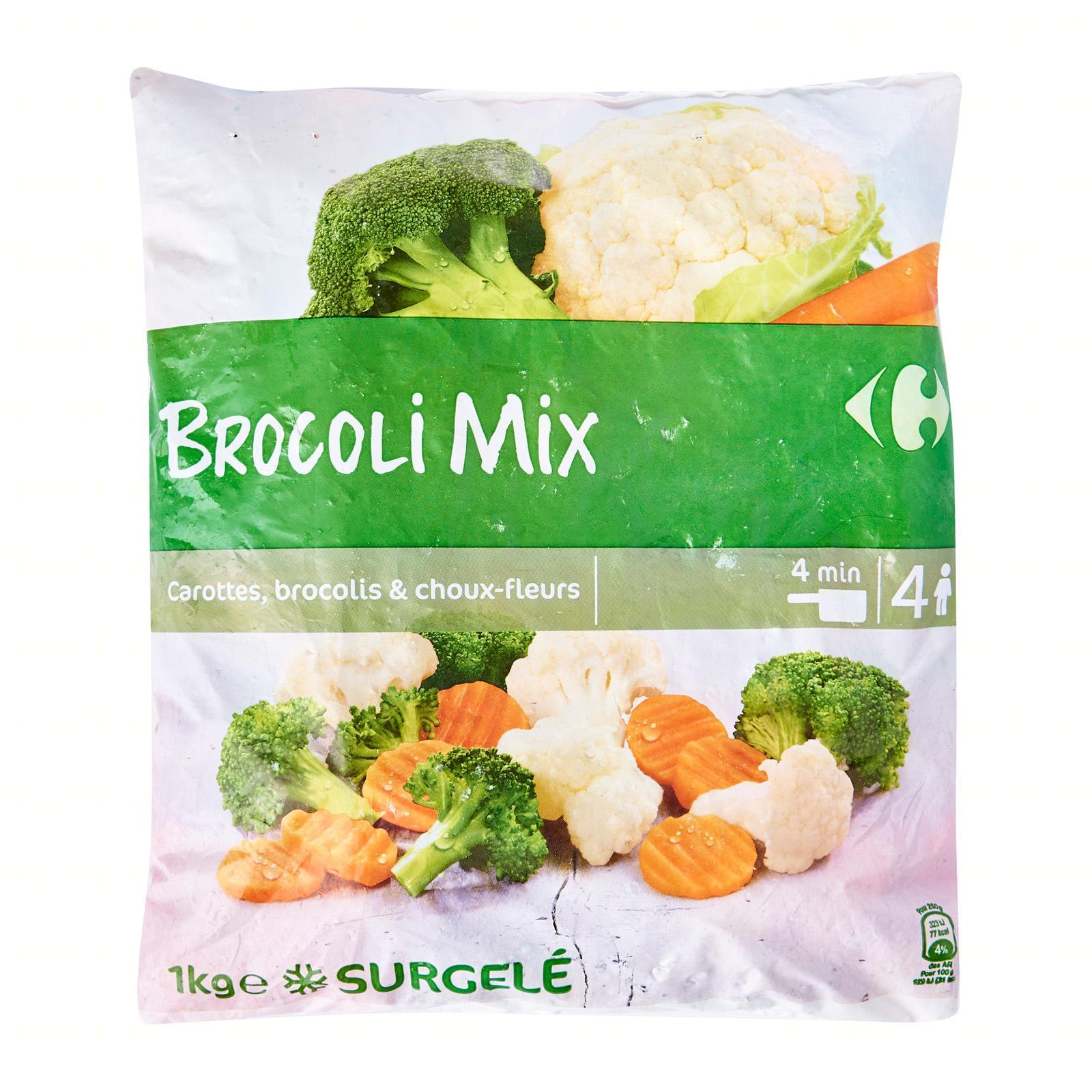 Carrefour Broccoli Mix - Frozen - By Le Petit Depot By Redmart.