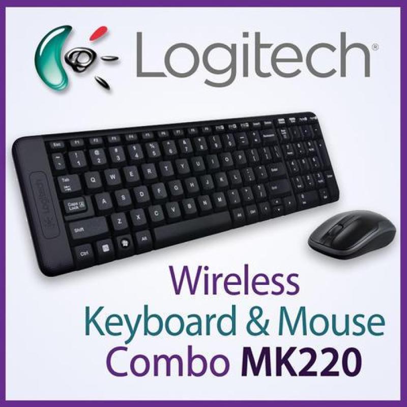 Logitech MK220 Wireless Combo (Keyboard and Mouse) (Local Distributor Stocks) Singapore