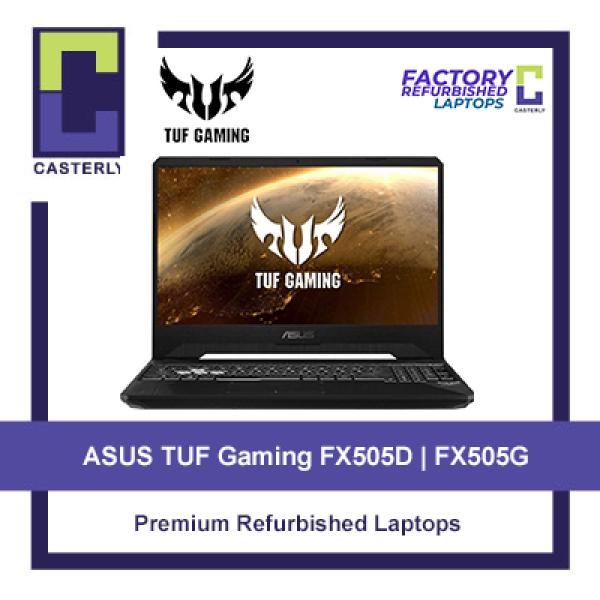 [Refurbished] ASUS TUF Gaming Series FX505D / FX505G / RTX 2060 / GTX 1650 / Gaming Laptop