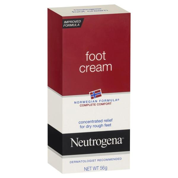 Buy Neutrogena Norwegian Formula Complete Comfort Foot Cream 56g  SPF15  - Improved formula - for dry heels and calluses-.Dermatologist Recommended Singapore