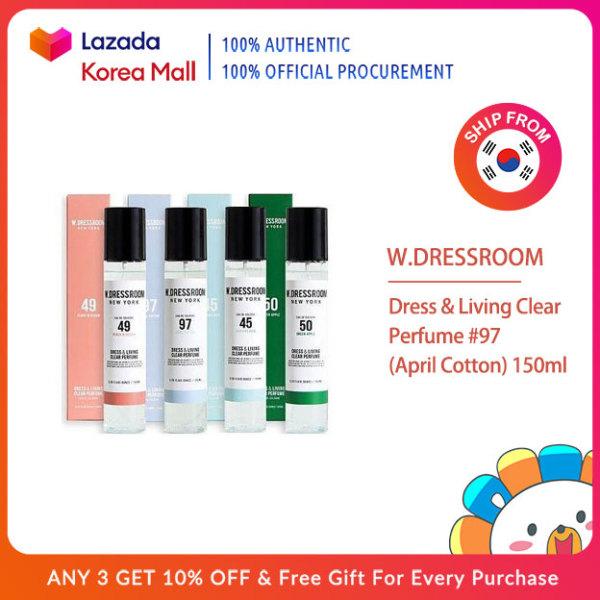 Buy W.DRESSROOM Official  Dress & Living Clear Perfume #97 (April Cotton) 150ml [Korea Beauty Authentic] Singapore
