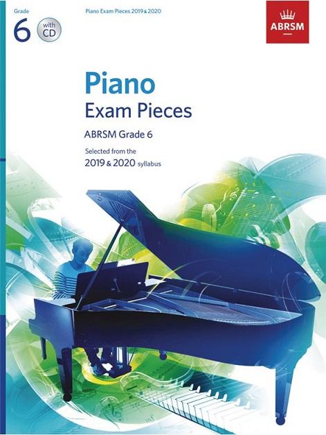 Piano Exam Pieces 2019-2020 Grade 6 Book with CD