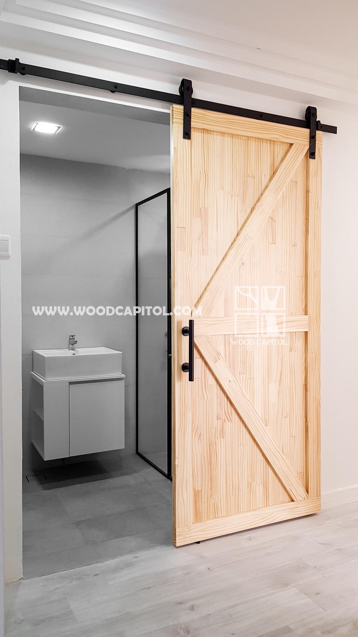 Wood Capitol Pine Wood Door