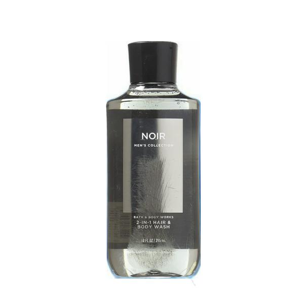 Buy Bath & Body Works : MENS COLLECTION : Noir 2-in-1 Hair and Body Wash - 295ml - Bath and Bodyworks - BBW Singapore