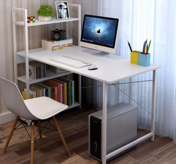 115cm X 55cm HH Computer Study Table -With Bookshelves