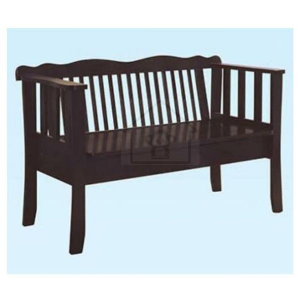 STORAGE BENCH/ GARDEN BENCH/ BENCH CHAIR WITH BACKREST