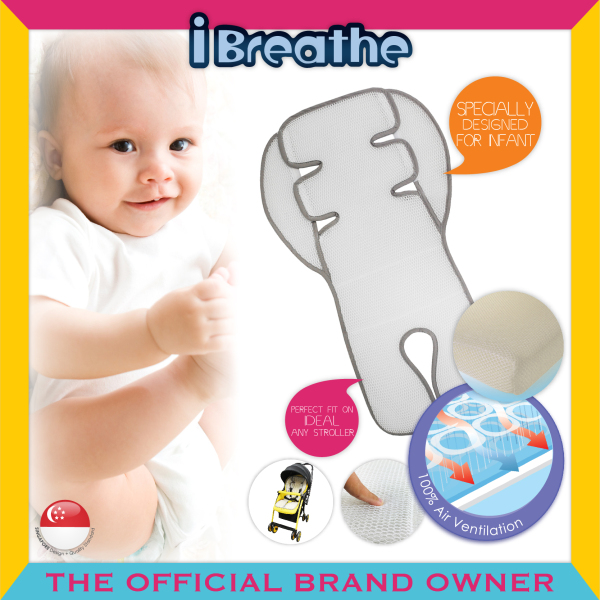 i-Breathe™ 142714 Airee 3D Mesh Stroller Cushion™ Singapore