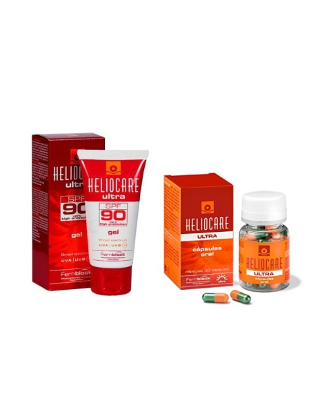 Buy Heliocare Ultra Gel SPF 90 & Heliocare Ultra-D Oral Singapore