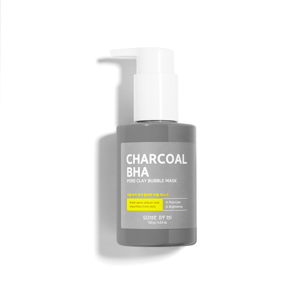 Buy SOMEBYMI Charcoal BHA Pore Clay Bubble Facial Mask Singapore