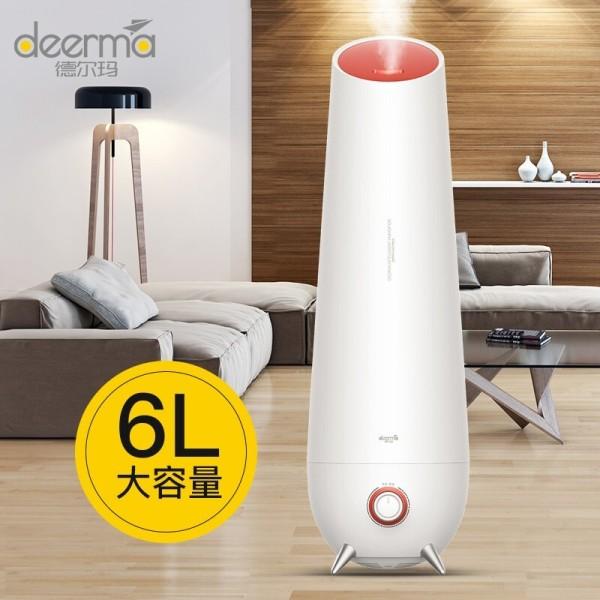 ★Local Warranty★ Deerma 6L Ultrasonic Household Humidifier Ultrasonic Aroma Diffuser Purifier SG Plug for Office Home add Aroma oil Singapore