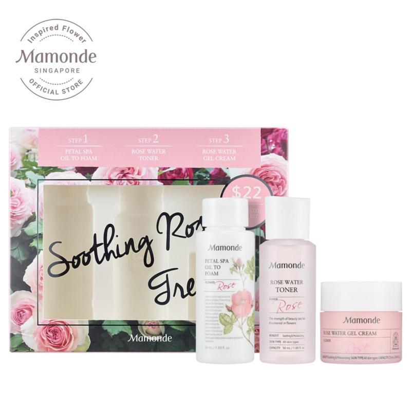 Buy [SKINCARE EXCLUSIVE] Mamonde Rose Water Travel Set Singapore