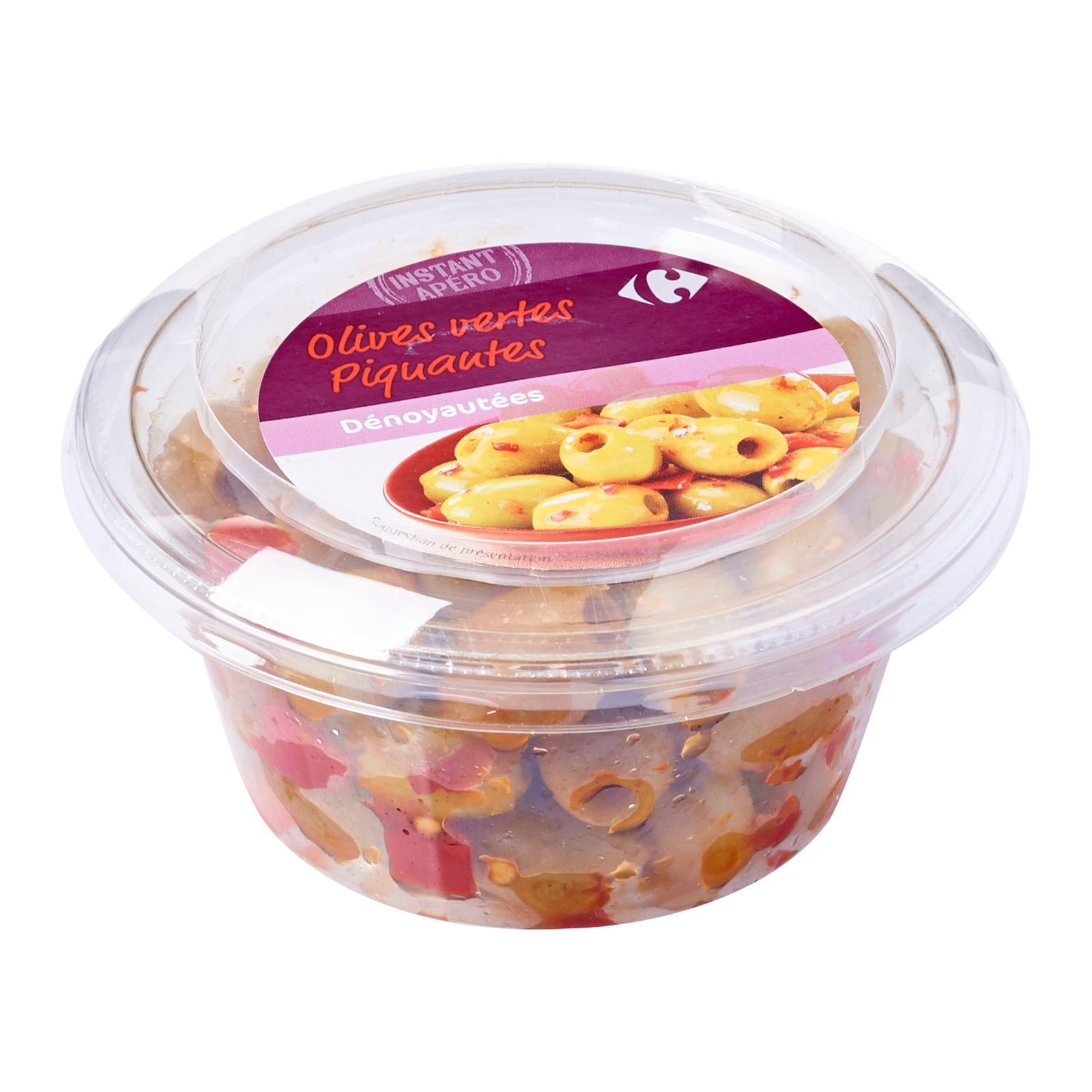 Carrefour Spicy Pitted Green Olives - By Le Petit Depot By Redmart.