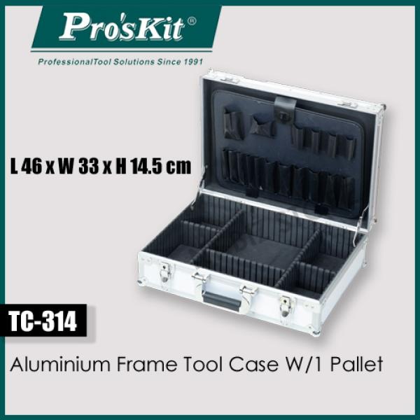Ac - Proskit TC-314 Aluminium Frame Tool Case W/1 Pallet (ProsKit)