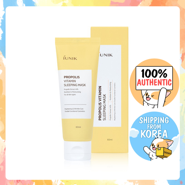 Buy [iUNIK] Propolis Vitamin Sleeping Mask 60ml Singapore