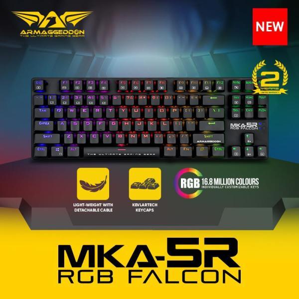 Armaggeddon Mechanical Gaming Keyboard MKA-5R(New) Fully Macro-able with software Singapore