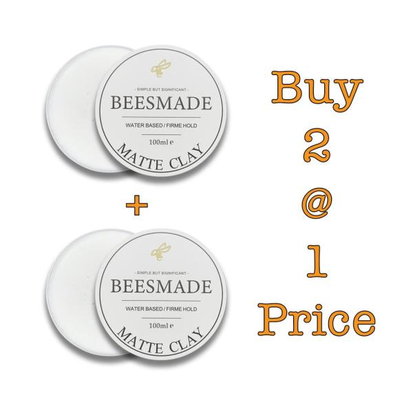 Buy *Bundle Deal* BEESMADE Hair Matte Clay x 2 Singapore