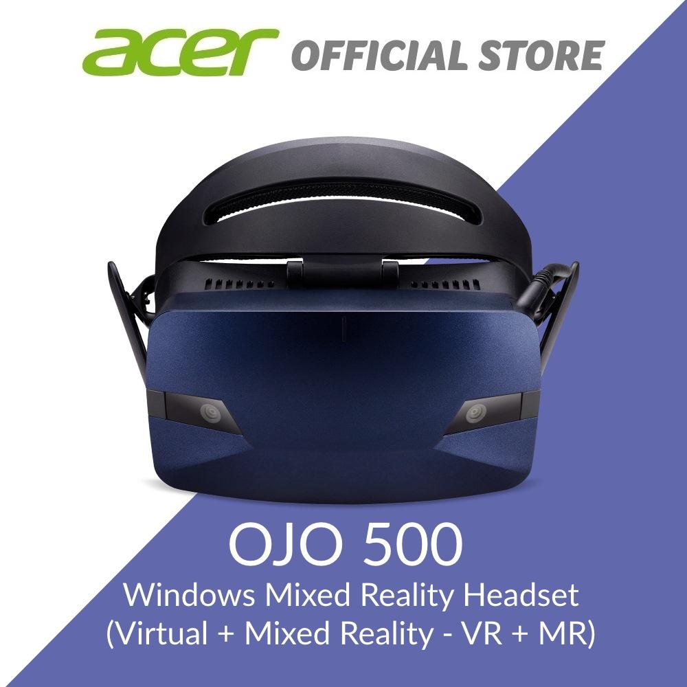 Acer OJO 500 Windows Mixed Reality Headset And Motion Controllers  (Virtual/Mixed Reality - VR/MR)