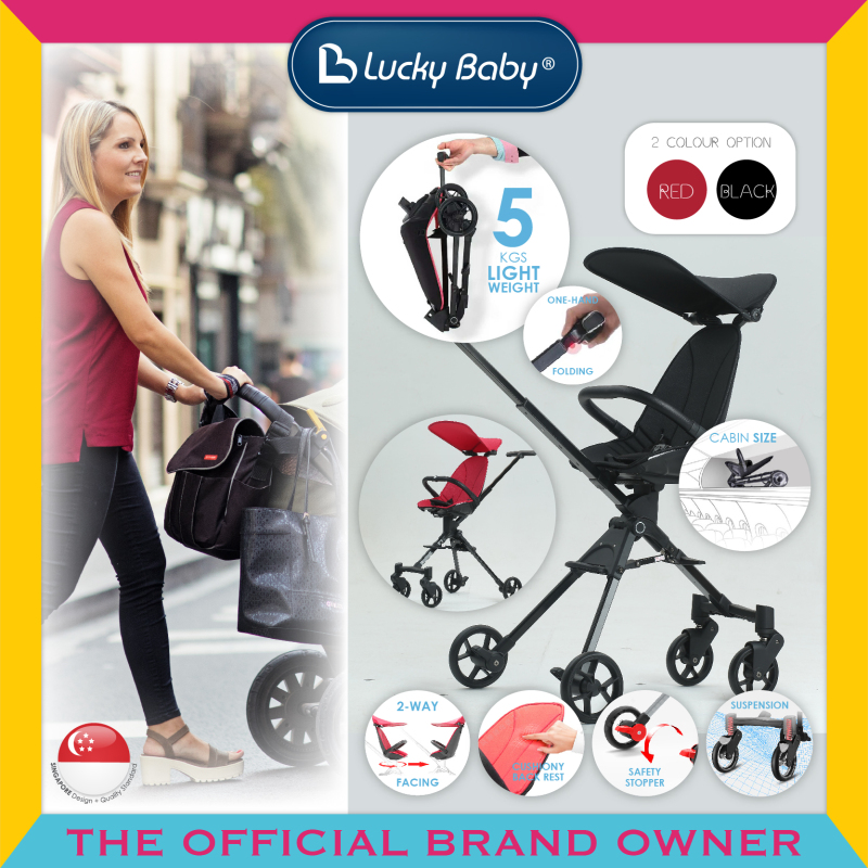 Lucky Baby® 516195 / 516201 City Kadee™ Cabin Rider Red / Black Singapore