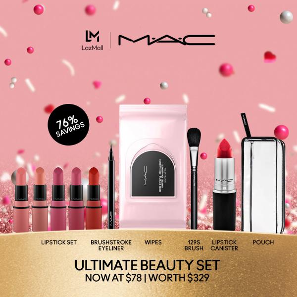 Buy MAC Ultimate Beauty Kit at $78 (Worth $329) Singapore