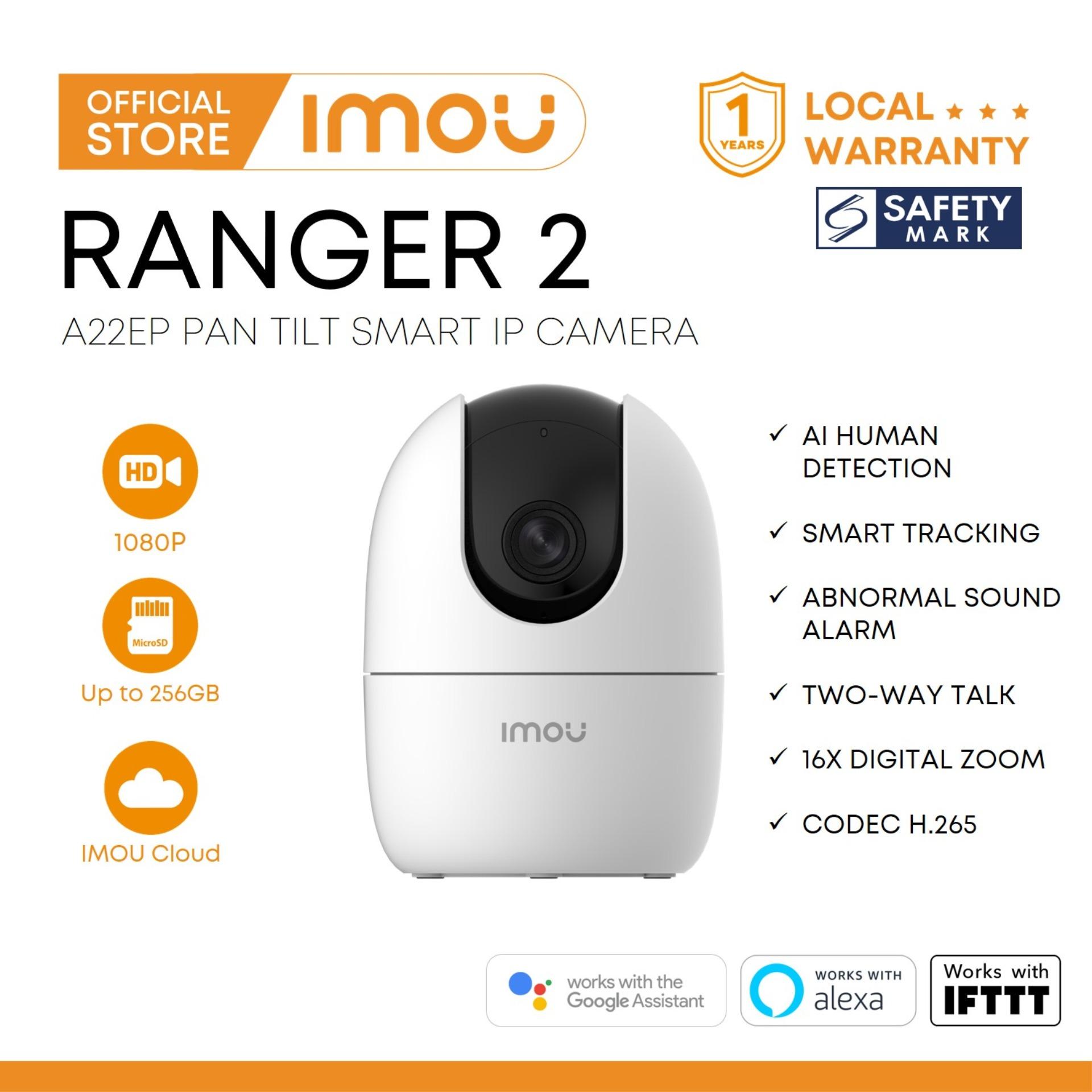 Imou Ranger 2 1080p A22ep 360 Degree Pan Tilt Smart Ip Camera.
