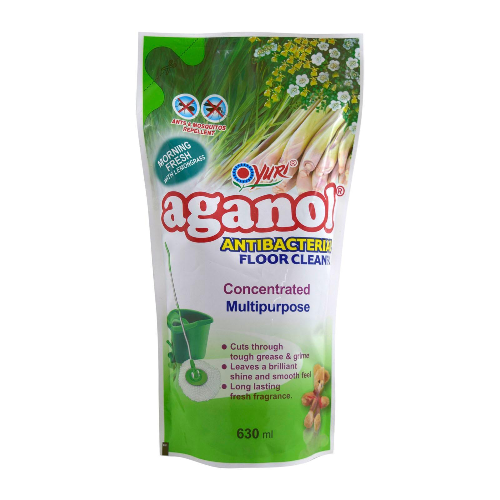 Yuri Aganol Antibacterial Multipurpose Floor Cleaner Refill Morning Fresh With Lemongrass