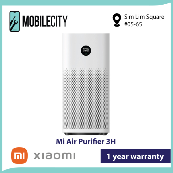 [Local SG Set] Xiaomi Mi Air Purifier 3H | 1 year Xiaomi SG Warranty Singapore