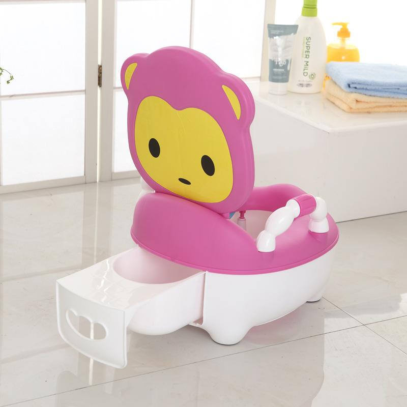 Men And Women Extra-large, Kids Toilet for Kids Stool Baby Infant Bedpan Foldable Infants Children Small Chamber Pot