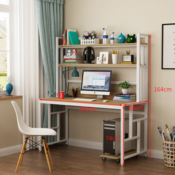 FREE DELIVERY - Study table with top shelves