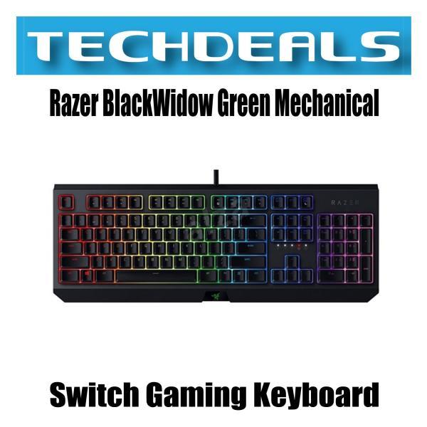 Razer BlackWidow - Green Mechanical Switch Gaming Keyboard - US Layout Singapore