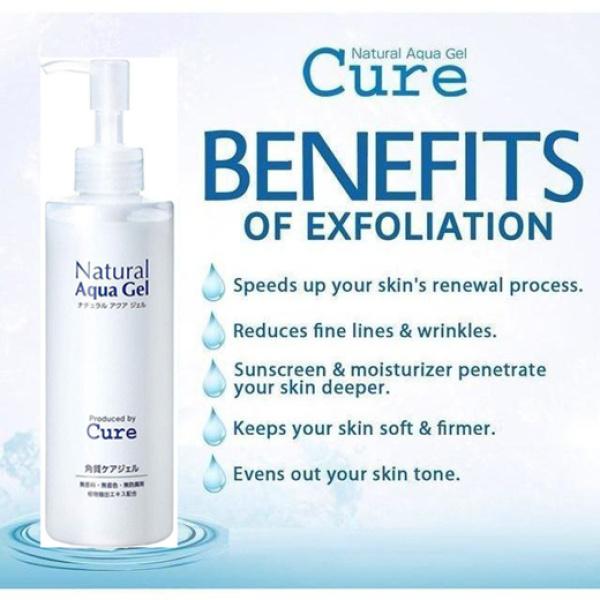 Buy Japan No.1 Exfoliator / Cure Natural Aqua Gel Exfoliator 250g Singapore