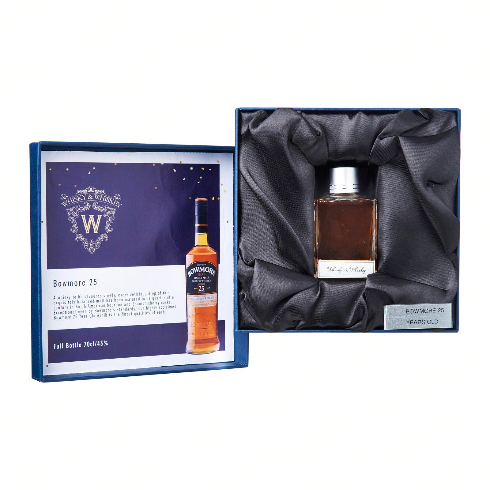Bowmore Dram Set For Bowmore 25 Years - By The Liquor Shop Singapore